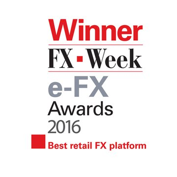 2016 - Best Retail FX Platform Award
